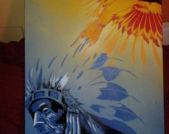The Blue Native--SOLD