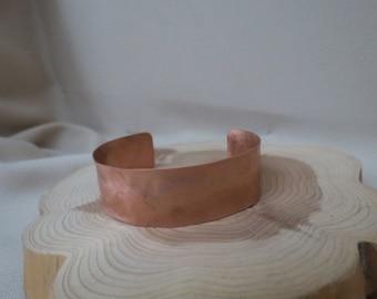 Hammered & Brushed Cuff Bracelet