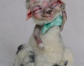 "Art Doll Sheep ""Lucien"""