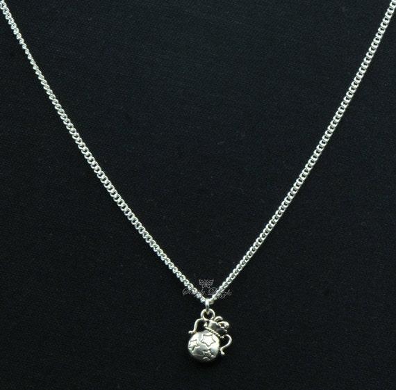 aquarius charm necklace charm necklace by simplydazzleboutique