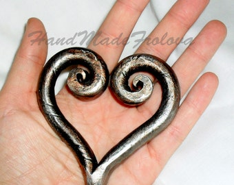 Metal Art, Exclusive, high quality, forging, heart, wrought heart,  8 March, Valentine's Day,