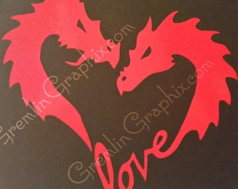Dragon Love T-Shirt (Adult)