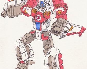 Transformers Skyblast - A4 Print