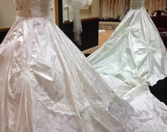 Antoinette Bridal Gown 100% Italin Silk