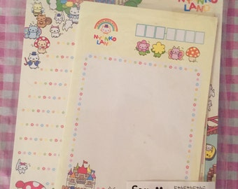 San-X Nyan Nyanko 2 letter sets Rare Kawaii