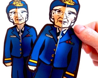 Grace Hopper Paper Doll Set - Printable Toy