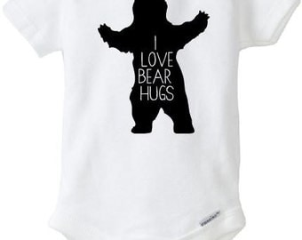 I Love Bear Hugs Shirt or onesie