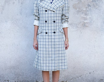 Chacked Vintage Coat