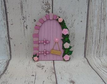 Fairy Door Izzy Pink Beautiful Handmade Various options