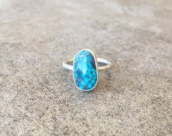 Dainty Turquoise Ring size 8