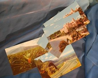 Lot of 5 Vintage Hawaiian Postcards