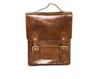 Brown Metropolitan Backpack (Medium: New Edition)