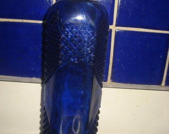 """Cobalt Blue 12"""" tall bottle"""