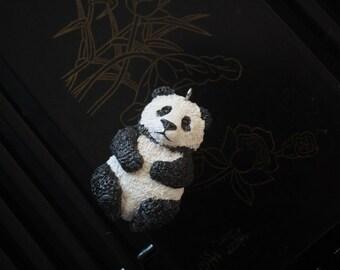 Panda Pendant Handmade