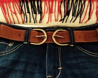 Make it a Double -  Suede Snap Belt
