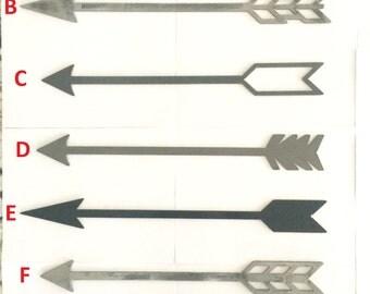 Rustic Metal Arrow Home Decor