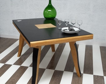 Retro-style dining table