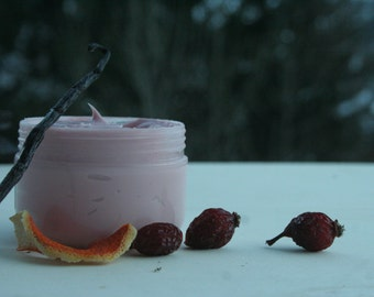 Body cream with Rosehip sweet orange and vanilla Oleole 100 ml _ rilazzante, nutritious, a cuddle for your skin