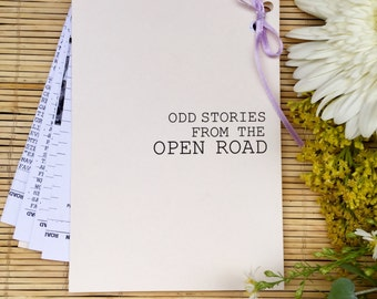 Odd Stories From The Open Road / Perzine / Zine