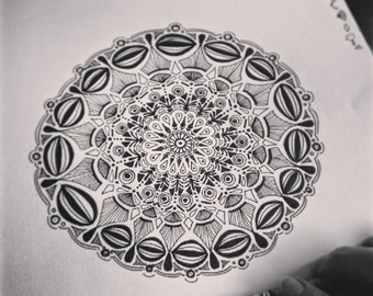 Custom Meditation Mandala