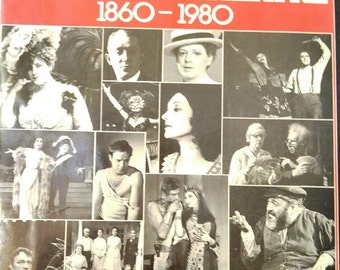 A Pictorial History of the American Theatre 1860 - 1980 By Daniel Blum, enlarged 5th Edition