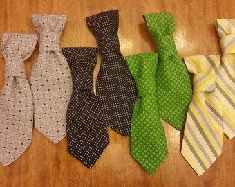 Preppy Pupster Tie