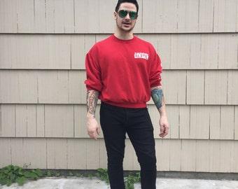 RECKLESS RED SWEATSHIRT