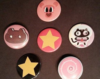 "Steven Universe Set of 1.5"" Pins"