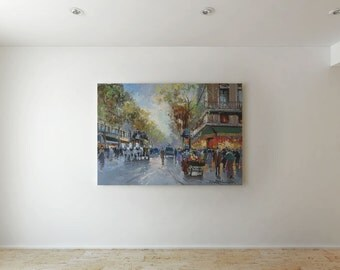 Old Paris - Canvas decor