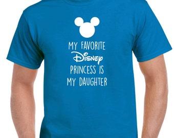 My Favorite Disney Princess Tshirt
