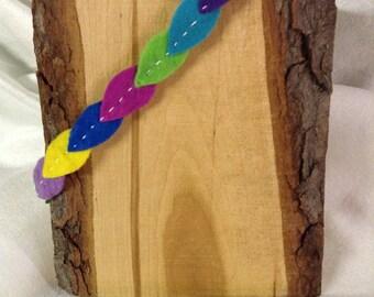 Colorful Leaves Headband