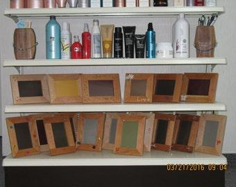 Wood frames and Jewels