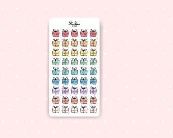 Gift Stickers / Planner Stickers / Mini Stickers / Rainbow Stickers | D14