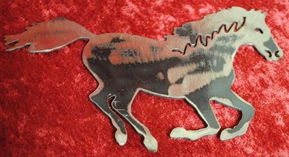 Horse Magnet, Equestrian, Horses, Magnet, Toolbox Magnet, Kitchen Decor, Refrigerator Magnets, Horse Lovers