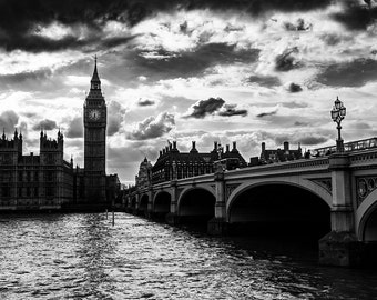 Picture of Big Ben, London, Thames, Westminster