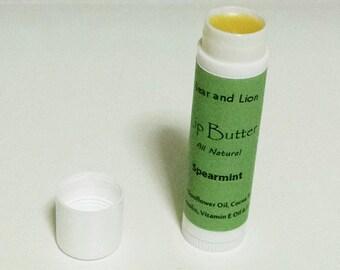 Spearmint Lip Butter - All Natural