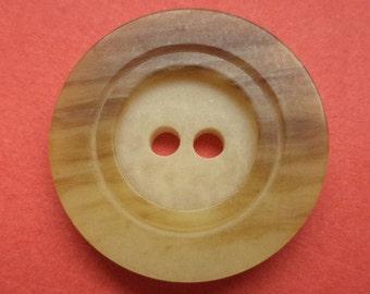 9 Brown buttons 21mm (1765) button brown beige