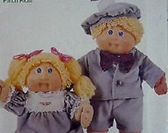 """Butterick 3564 Cabbage Patch Kids Doll Clothes (Sz 16"""") Uncut"""
