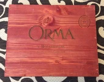 Italian Wine Crate Panel-Orma