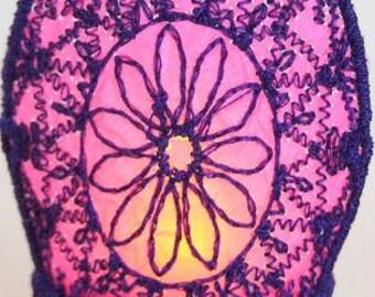 FSL Tealight Wraps (Mylar optional) (10 Machine Embroidery Designs from ATW )