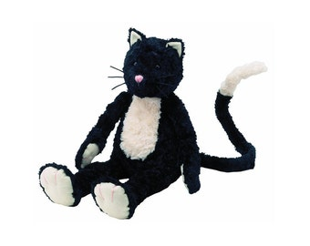 Jellycat Pickles Black And White Cat