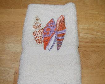 Seashell Beige Hand Towel4