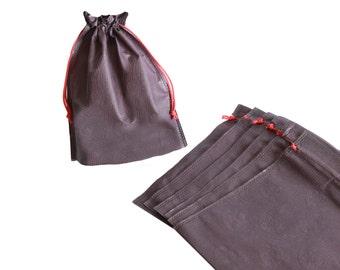set di 50 sacchetti in PVC goffrato-gioielli sacchetto-matrimonio regalo imballaggio-cioccolato borsa-gioielli caso-Eco friendly-regalo borsa-gioielli borse