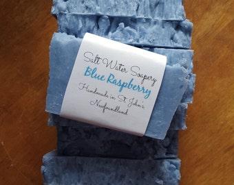 Blue Raspberry Homemade Soap