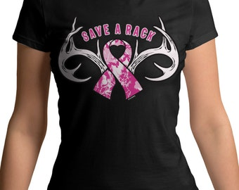 Save A Rack -2205- Breast Cancer Awareness Month Pink Camo