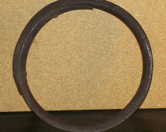 Late 1800's Wooden Clamp Used For Barrel Making