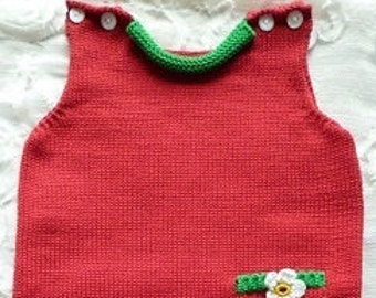 "Baby romper ""Strawberry"""