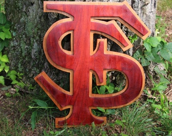 Florida State Wood Logo