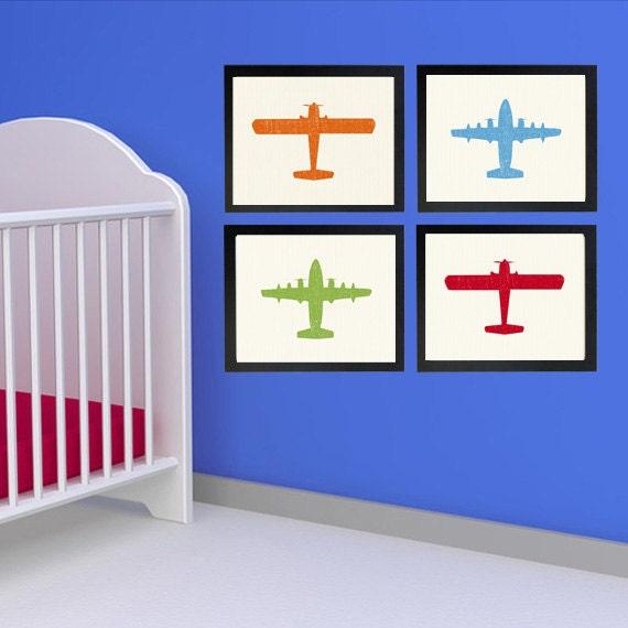 Airplane Nursery Decormountedairplane Nurseryairplane