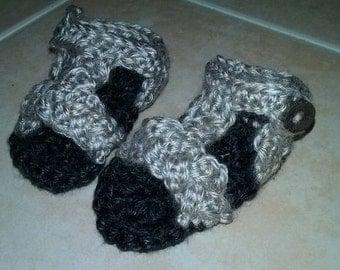 Infant Crochet Sandals Size 0-3 months